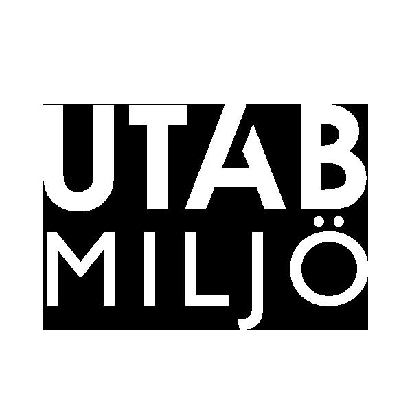 UTAB Miljö stående logotyp